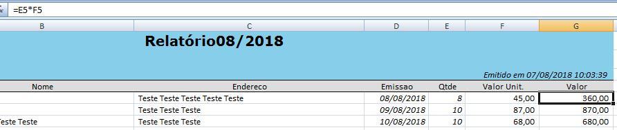 Relatórios Excel sem Windows ou Office5