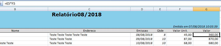 Relatórios Excel sem Windows ou Office5